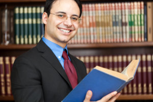 smiling lawyer